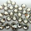 Swarovski Flat Backs (No Hotfix) 2058 Crystal Silver Shade 001SSHA