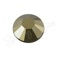 Swarovski Flat Backs (No Hotfix) 2058 Crystal Metallic Light Gold 001MLGLD