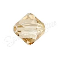 Swarovski 5328 Crystal Golden Shadow (001 GSHA)