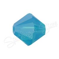 Swarovski 5328 Caribbean Blue Opal (394)