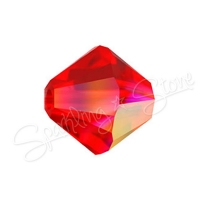 Swarovski 5328 Light Siam AB (227 AB)