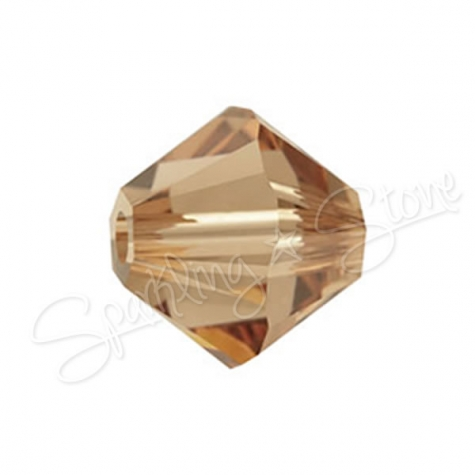 Swarovski 5328 Light Smoked Topaz (221)