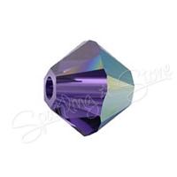 Swarovski 5328 Purple Velvet AB (277 AB)