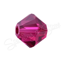 Swarovski 5328 Beads 5328 Ruby (501)